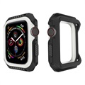 Apple Watch Series 4 Silikonskal - 40mm - Svart / Vit