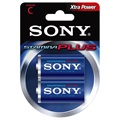 Sony Stamina Plus C/LR14 Batteri AM2-B2D - 1.5V - 1x2