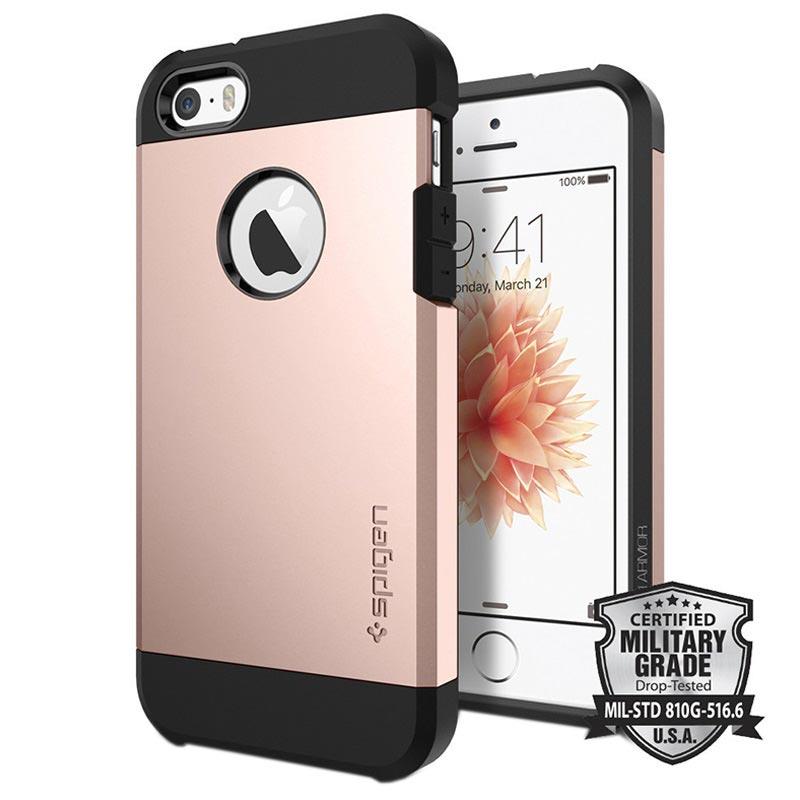 iPhone 5 5S SE Spigen Tough Armor Skal 44c9d79204991