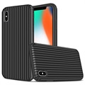 Suitcase Series iPhone XS Max Hybrid Skal