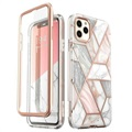 Supcase Cosmo iPhone 11 Pro Max Hybrid Skal - Rosa Marmor