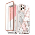 Supcase Cosmo iPhone 11 Pro Hybrid Skal - Rosa Marmor