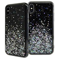 SwitchEasy Starfield iPhone XS Max Hybrid Skal - Svart