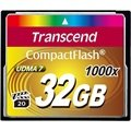 Transcend 1000X Compact Flash Minneskort TS32GCF1000 - 32GB