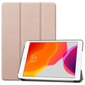 Tri-Fold Series iPad 10.2 Smart Foliofodral - Guld