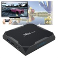 X96 Max 4K UHD Android 8.1 TV-Box med 4GB RAM, 32GB ROM
