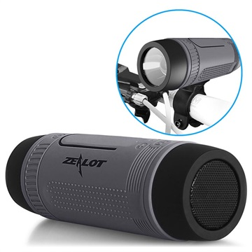 Zealot S1 6-i-1 Multifunktionell Bluetooth Högtalare