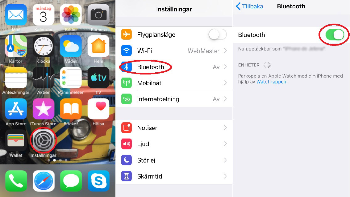kan du koppla in ett tangent bord till din iPhone
