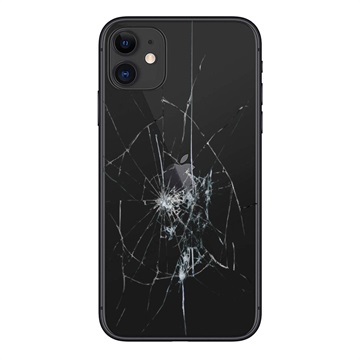 iPhone 11 Bakskal Reparation - Endast Glas