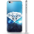 iPhone 6 / 6S TPU-Skal  - Diamant