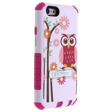 iPhone 6 / 6S Beyond Cell Tri Shield Design Hybrid Skal - Daisy Owl