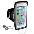 iPhone 6 /  6S iGadgitz Anti-Slip Sports Jogging Armband - Svart