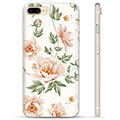 iPhone 7 Plus / iPhone 8 Plus TPU-Skal  - Blommig