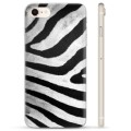 iPhone 7/8/SE (2020) TPU-Skal - Zebra