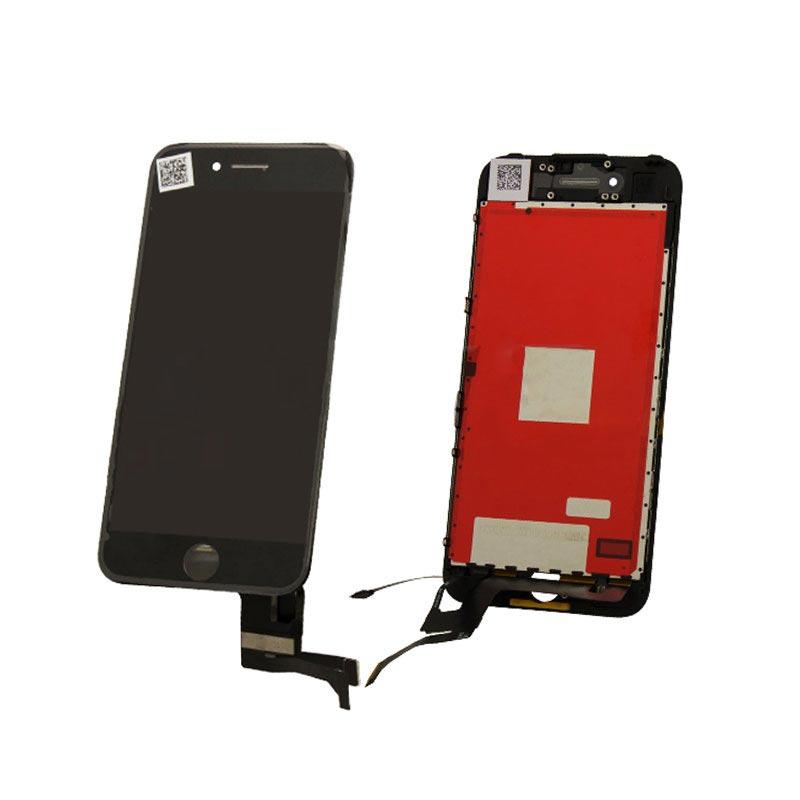 iphone 7 skärm med lcd display svart komplett