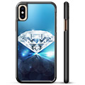 iPhone X / iPhone XS Skyddsskal - Diamant