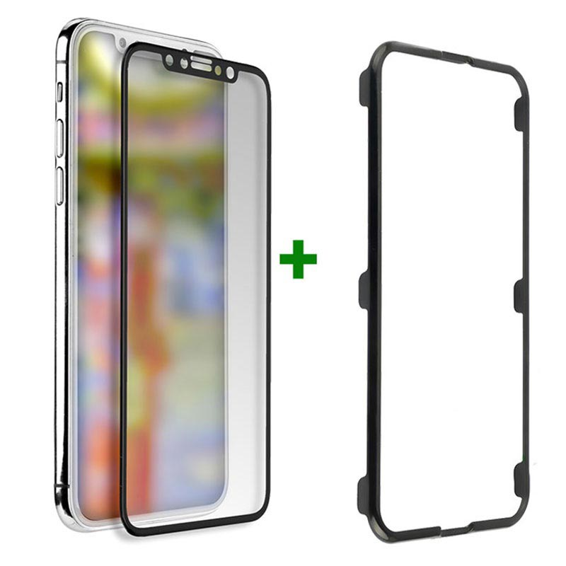 4smarts Second Glass Easy-Assist iPhone X/XS/11 Pro Skärmskydd - Svart