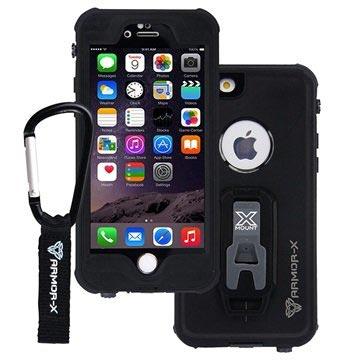 iPhone 6 6S Armor-X MX-AP4S Vattentätt Fodral - Svart fcc105e2add8c
