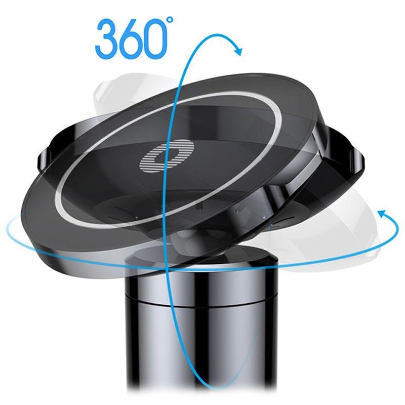 Baseus Big Ears QC2.0 Qi Trådlös Billaddare Magnetisk Bilhållare