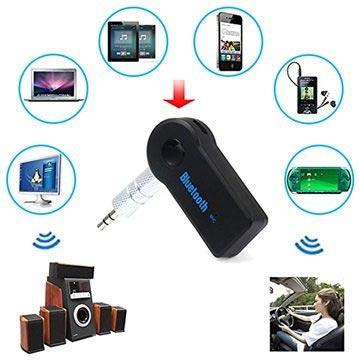 Universell Bluetooth   3.5mm Audio Mottagare - Svart 50806e7f0a736