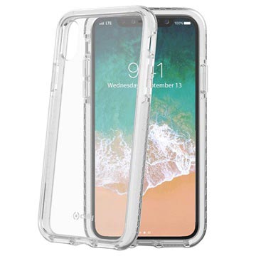 iPhone X / iPhone XS Celly Hexagon2 Hybrid Skal