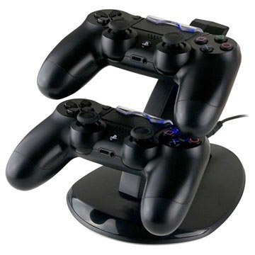 Sony PlayStation 4 Dubbel Controller Laddstation