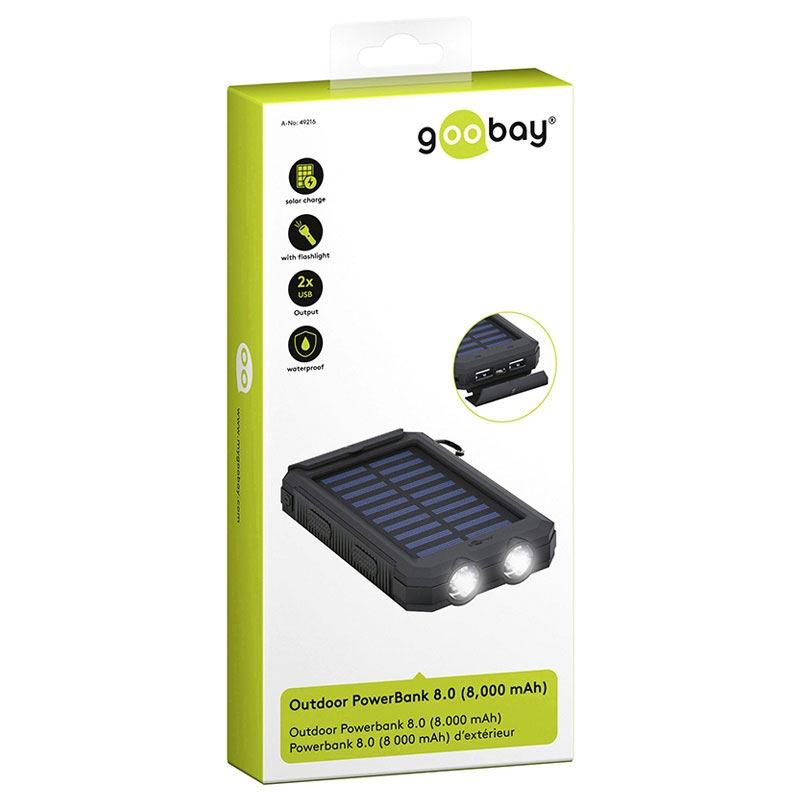 bärbar laddare power bank batteri genom talkworks | 8000