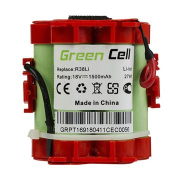 Green Cell Batteri - Gardena R70Li, R80Li, Husqvarna Automower 308 - 1.5A