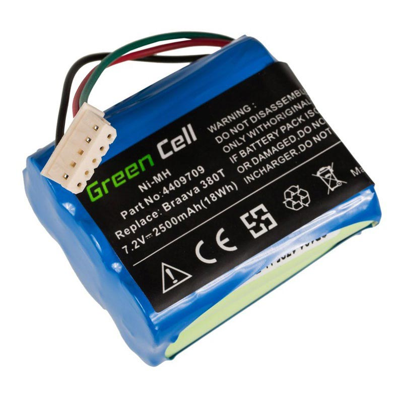 Green Cell Batteri - iRobot Braava 380, 380T, Mint 5200 - 2.5Ah