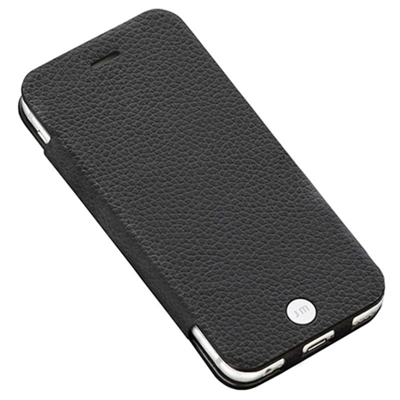 iPhone 6 Plus / 6S Plus Just Mobile Quattro Folio Läderfodral - Svart