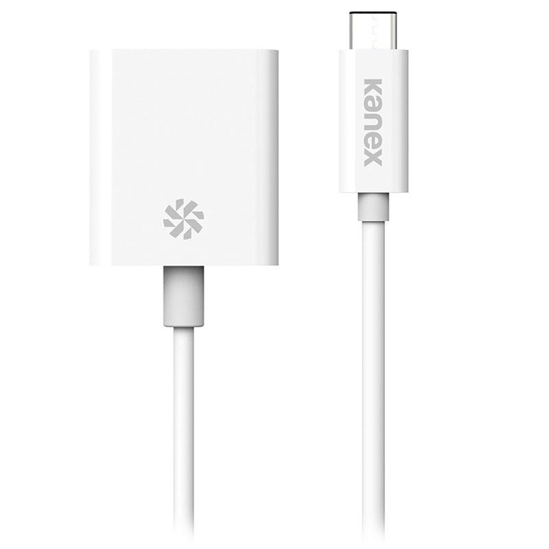 Kanex USB-C / VGA Kabel Adapter - Vit