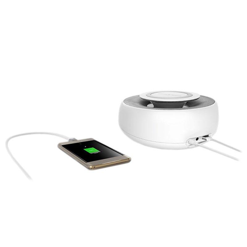 Nillkin Enjoy Cozy MC2 Bluetooth Högtalare & Trådlös Laddare Vit