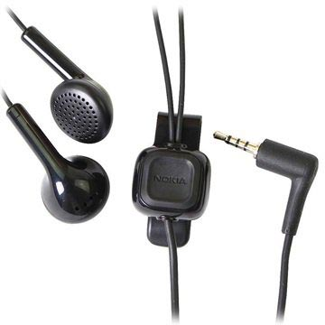 Nokia HS-105 (WH-101) Stereo Headset - Svart
