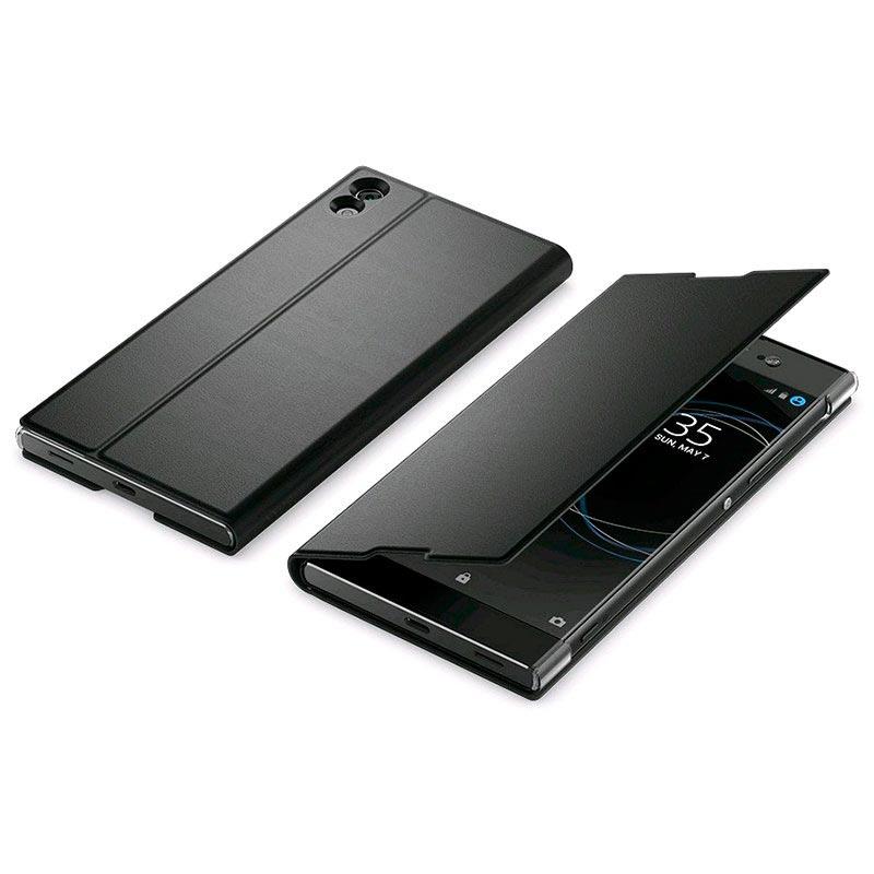 Sony Xperia XA1 Ultra Skyddsfodral SCSG40 - Svart 1655378f03091