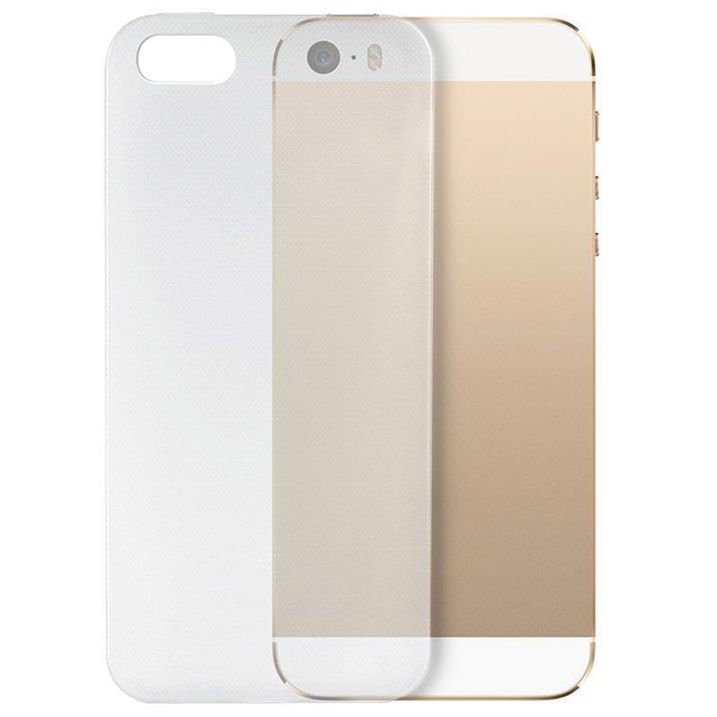 iPhone 5 5S SE Puro 0.3 Ultra Slim Nude Silikon Skal - Genomskinlig f062d396f4559