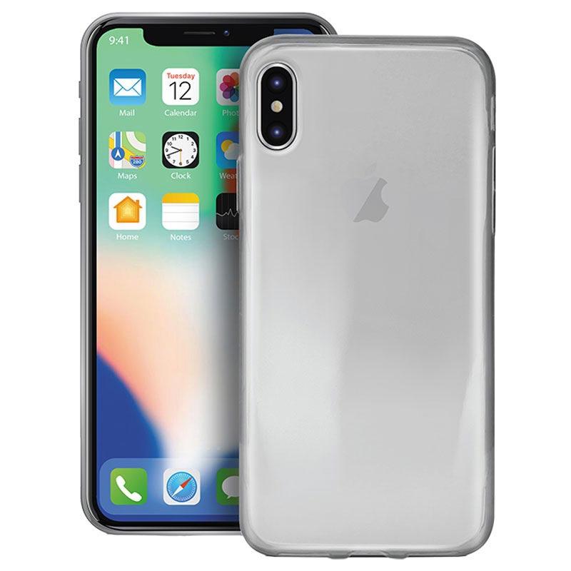 Puro 0.3 Nude iPhone 12 Mini TPU-deksel - Gjennomsiktig