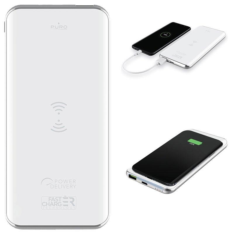 Powerbank trådlös laddare till mobilen eller surfplattan