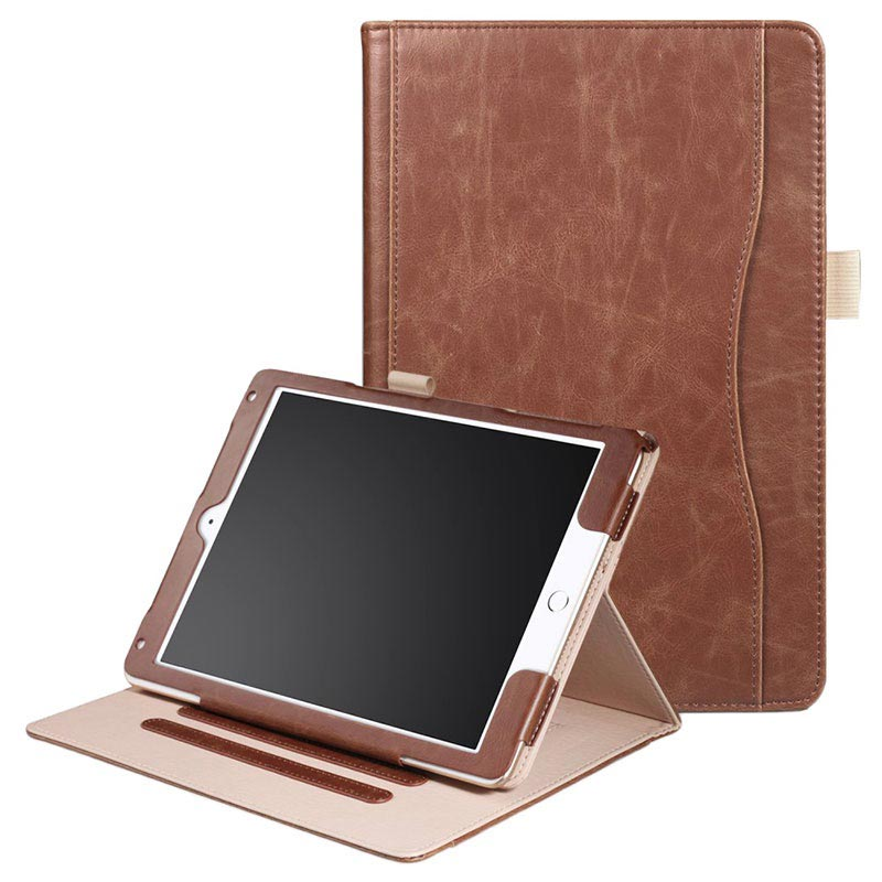 Retro Smart Foliofodral - iPad 9.7, iPad Air 2, iPad Air - Brun