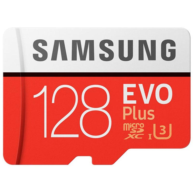 Samsung Evo Plus MicroSDXC Minneskort MB-MC128GA/EU - 128GB