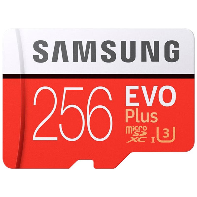 Samsung Evo Plus MicroSDXC Minneskort MB-MC256GA/EU - 256GB