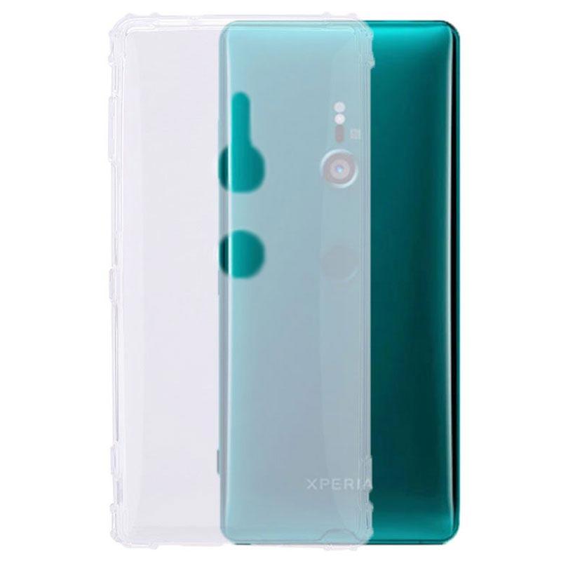 Stöttåligt Sony Xperia XZ3 TPU-skal - Genomskinlig 380790152a3e7