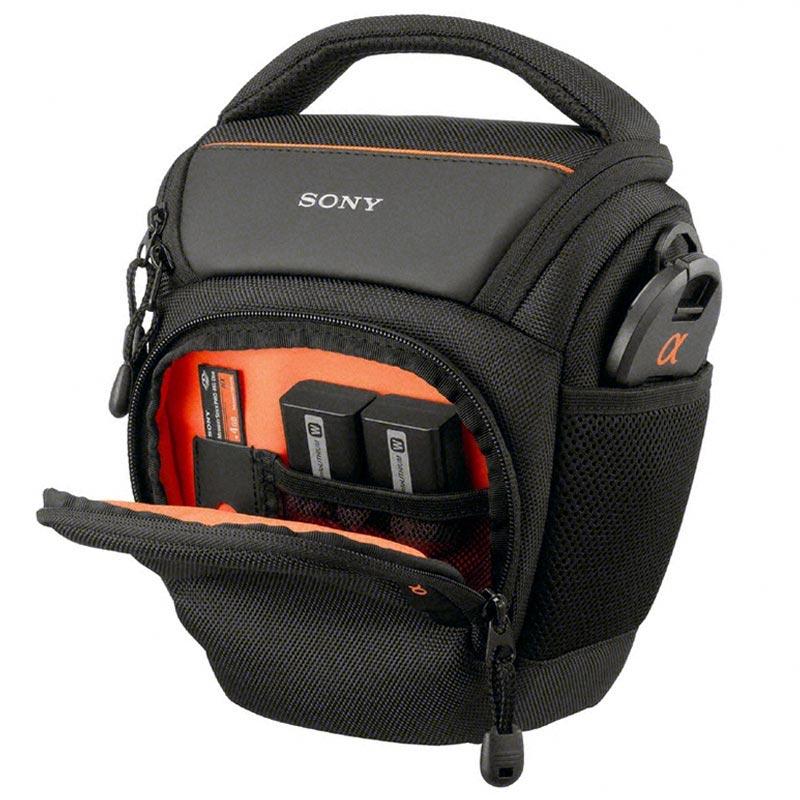 Sony LCS AMB Alpha Mjuk Väska Svart