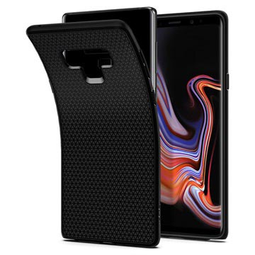 Spigen Liquid Air Samsung Galaxy Note9 Skal - Mattsvart