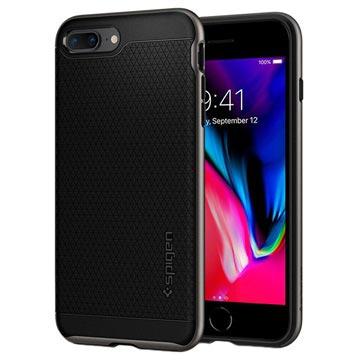 Spigen Neo Hybrid 2 iPhone 7 Plus   8 Plus Skal - Gunmetal a0369f94e66de