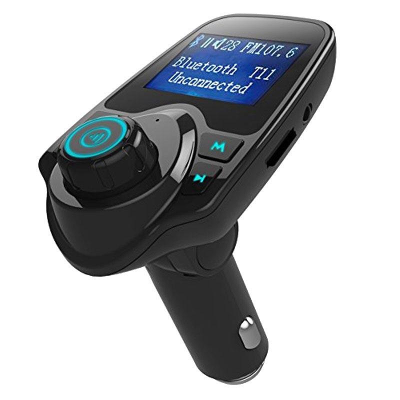 Omtalade T11 Bluetooth FM-sändare & Billaddare | MyTrendyPhone RS-01