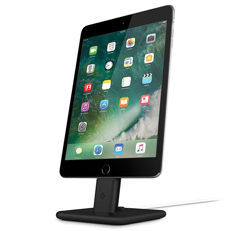Twelve South HiRise 2 Deluxe Laddningsstativ till iPhone & iPad - Svart