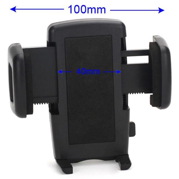 Universell Dubbel USB Billaddare Hållare