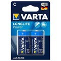Varta Longlife Power C/LR14 Batteri 4914110412 - 1.5V - 1x2