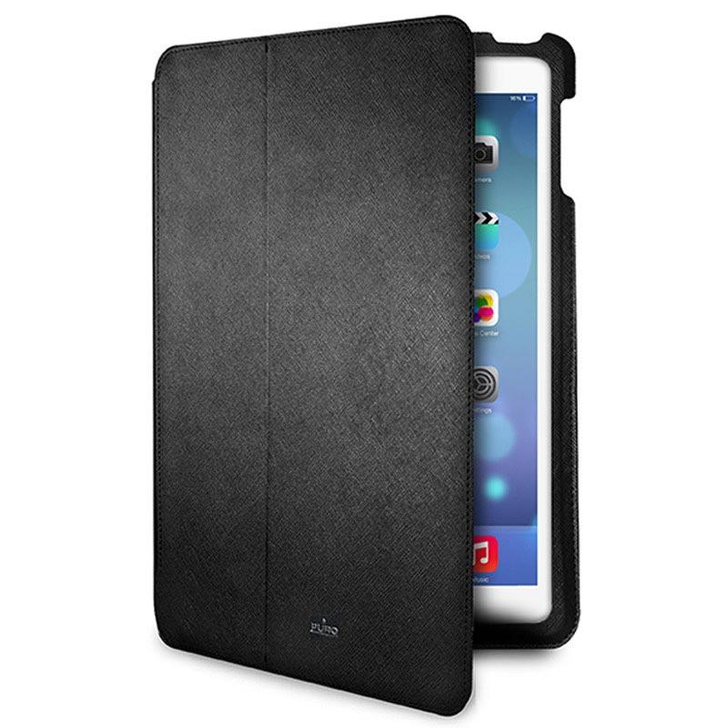 iPad Air Puro Ultra Slim Flip Läderfodral - Svart e60751d602431