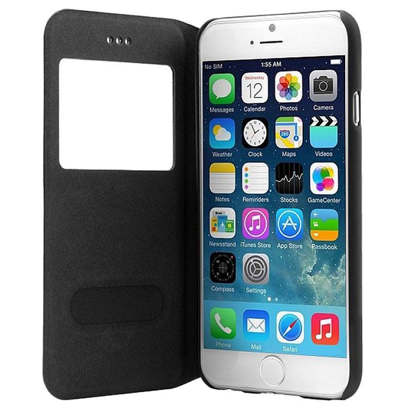 iPhone 6 Plus   6S Plus Bugatti Bokomslag Lausanne Väska - Svart 4c5f12a5c8247